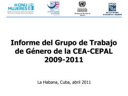 Diapositiva 1 - Oficina Nacional de Estadísticas