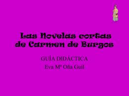 Los mejores relatos de Carmen de Burgos