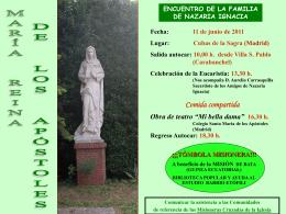 13,30 h. - Misioneras Cruzadas de la Iglesia