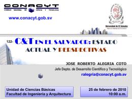 innovación - Consejo Nacional de Ciencia y Tecnología