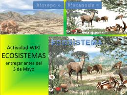 ACT.WIKI ECOSISTEMAS - PiitiiPanaSomosLoQeSomos