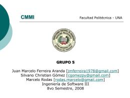 Bases de CMMI - is2-srr