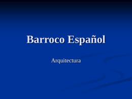 Barroco Español - historiadelartebachillerato