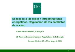 derecho de acceso en el sector gasista