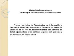 PPT direccion Info