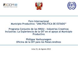 17.05 Presentacion OIT Foro Municipio