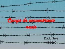 Camps de concentració nazis