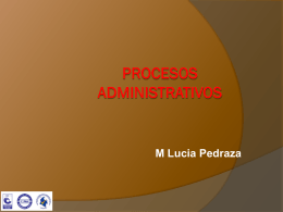 PROCESOS ADMINISTRATIVOS Sesión 2_ - prad