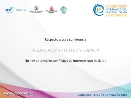 Diapositiva conflictos de interés