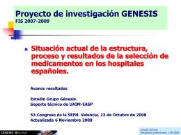 Presentación PPT. Avance Actualización 06-11-2008