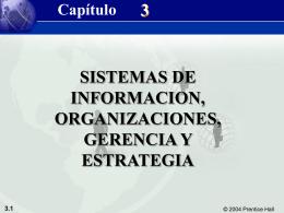 Sistemas de Información, Organizaciones, Gerencia y Estrategia