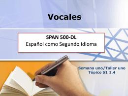 Locuciones latinas SPAN 501
