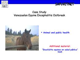 Outbreak of Venezuelan Equine Encephalitis – Public health and