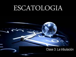 I. La Tribulación como el - Pablo Giovanini