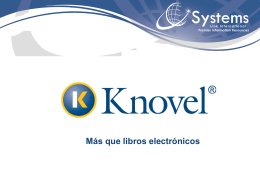 My Knovel