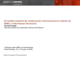 Cooperación técnica internacional en