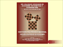 Presentación - WWW Facultad de Economia