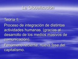 La_Globalizacion