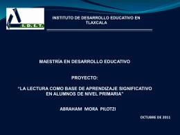 Presentación Proyecto Desarrollo Proyec 26-10
