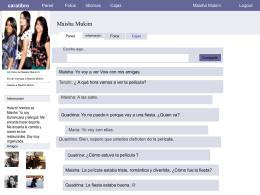 Maisha`s spanish facebook project