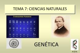 TEMA 7: CIENCIAS NATURALES