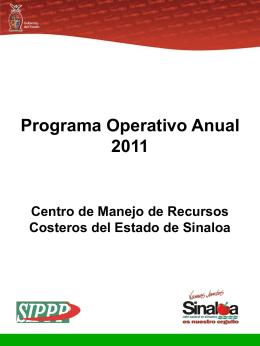 POA 2011 - Portal de Acceso a la Información