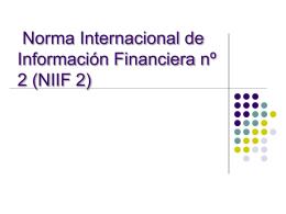 Norma Internacional de Información Financiera nº 2 (NIIF 2)