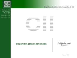 Pérfiles Y Níveles de Servicio 2006 v.03 Presentación