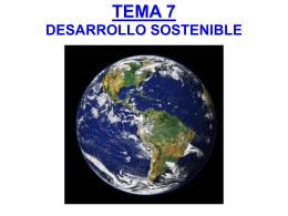TEMA 7 LOS RECURSOS Y EL DESARROLLO