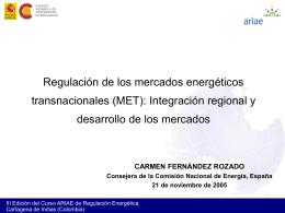 6. La integración energética en Latinoamérica
