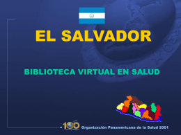 Pan American Health Organization - Biblioteca Virtual en Salud