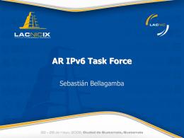 AR – IPv6TF