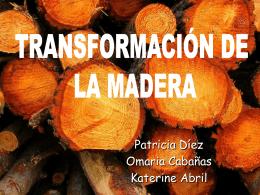TRANSFORMACION DE LA MADERA - tecnologiaindustrialuno2010
