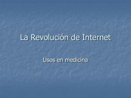 La Revolución de Internet
