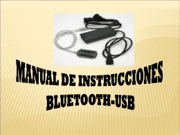 MANUAl bluetooth USB
