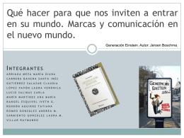 Presentación 2 - Octavio Islas