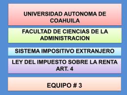 EQUIPO 3 Articulo 4 LISR