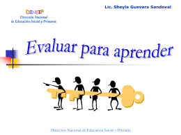 DINEIP Dirección Nacional de Educación Inicial y Primaria