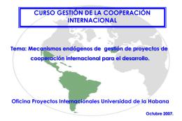 cgc1107 - Universidad de La Habana