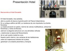 Presentación Hotel