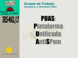 PUAS - RedIRIS