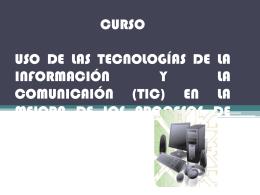 curso uso de las tecnologías de la información y