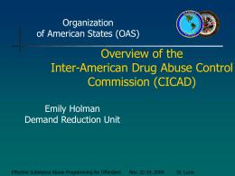 cicad - Organization of American States
