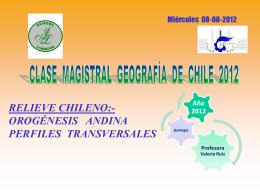 Clase Magistral Historia 2012.