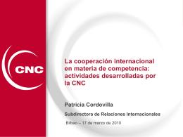 Ponencia Patricia Cordovilla