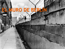 Muro de Berlín. - Patricio Alvarez Silva