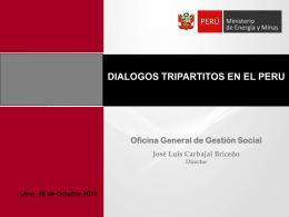 Diálogos Tripartitos