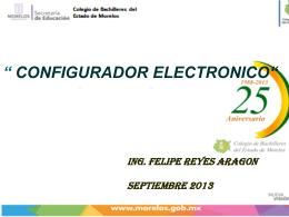 configurador electronico
