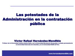 Presentacion Victor Hernandez Mendible