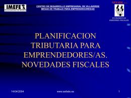 Planificacion tributaria